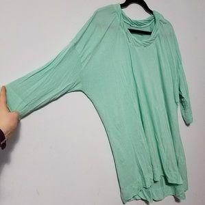 💰 CLEARANCE Pretty Lane Bryant mint tunic,
